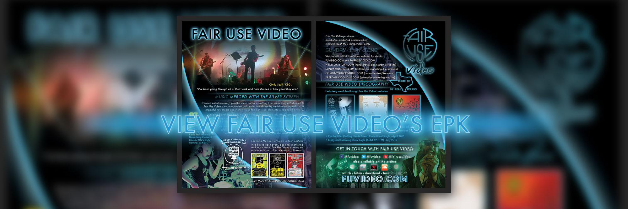 Fair Use Video EPK